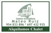 Alquiler | Chalets